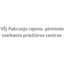 Pakruojo r. pirminės sveikatos priežiūros centras, VšĮ