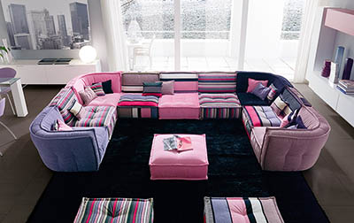 Itališki baldai – populiarus interjerų pasirinkimas