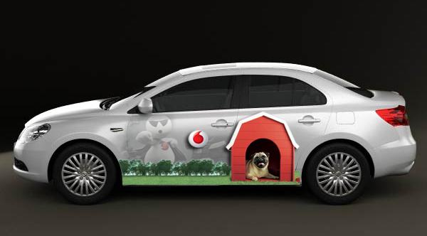 Automobilių apklijavimas plėvele – viena iš efektyvių reklamos priemonių