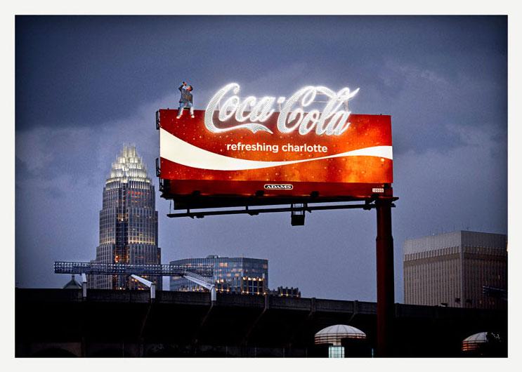 Lauko reklamos gamyba