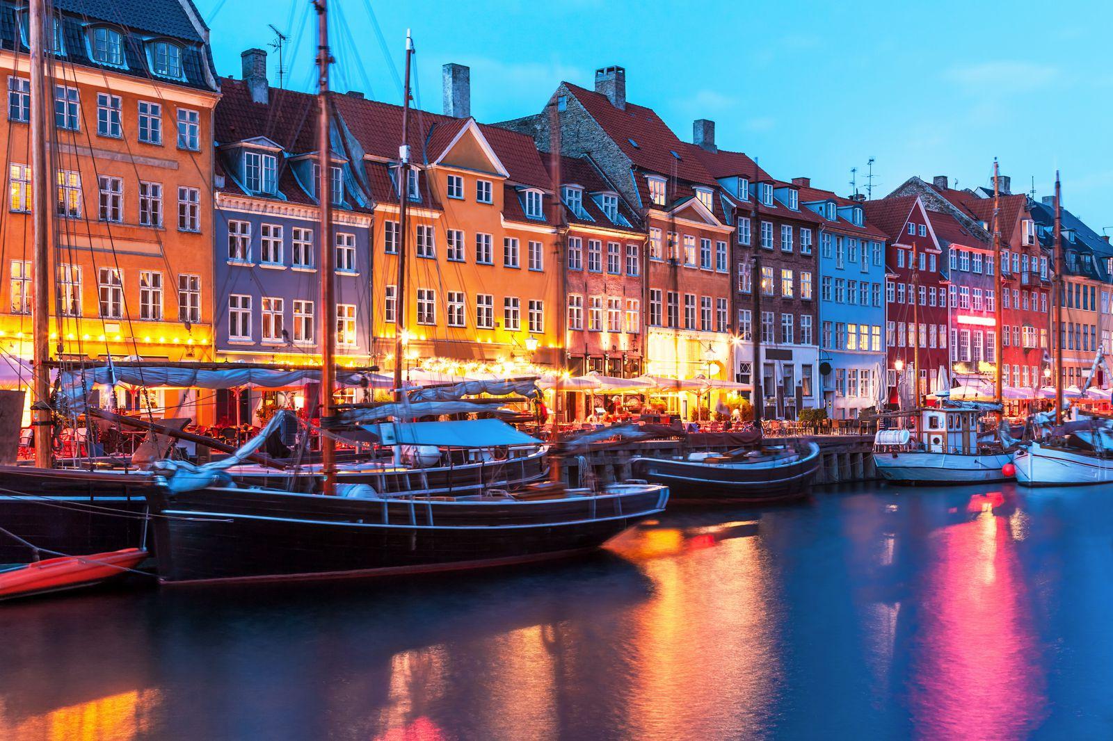 Skrydziai i Kopenhaga