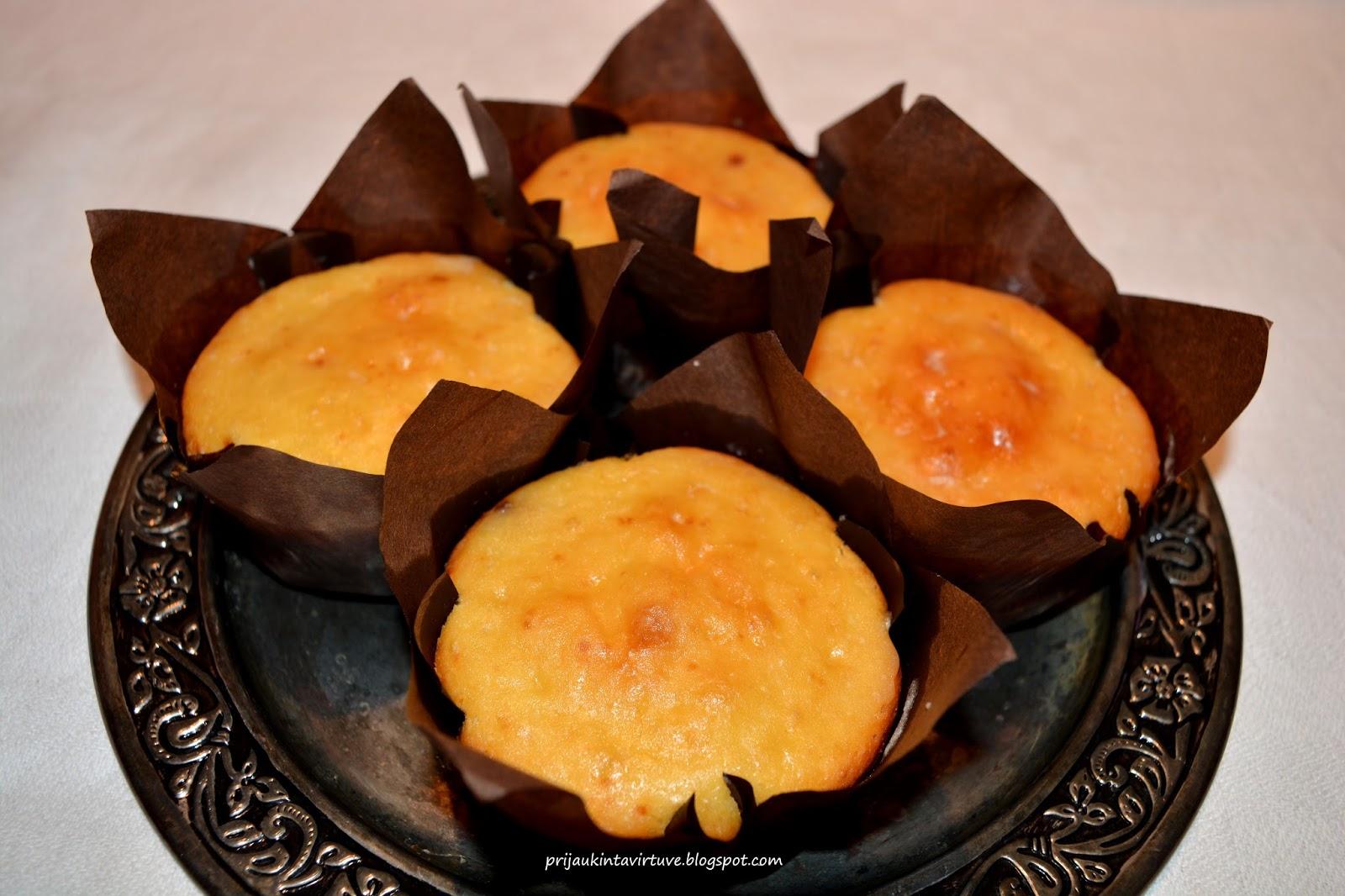 Apelsininiai keksiukai – Netik skonis, bet ir gundantis aromatas