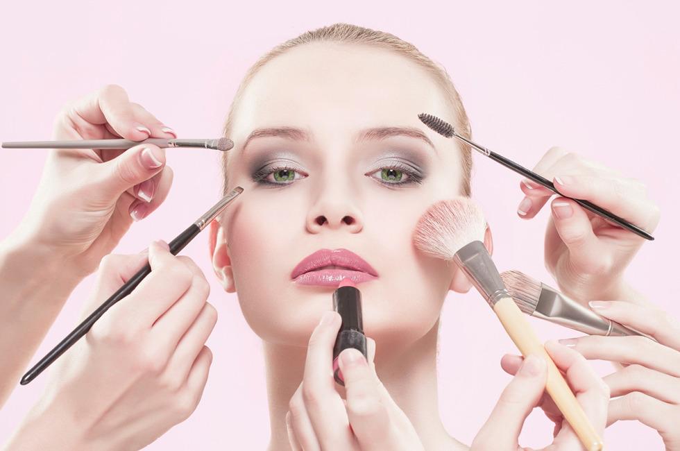 Didelis kosmetikos pasirinkimas
