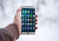 Samsung Galaxy S8 ekrano keitimas